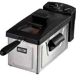Weston 03-1200-W 3 liter Deep Fryer - 12 Cup