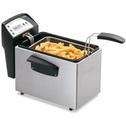 PRESTO 05462 Digital ProFry Immersion Element Deep Fryer