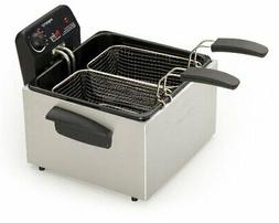 Presto 05466 Stainless Steel  Dual Basket Pro Fry Immersion