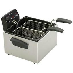 Presto 05466 Stainless Steel Dual Basket Pro Fry Immersion E