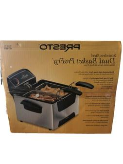 Presto 05466 Stainless Steel  Dual Basket ProFry ImmersionEl