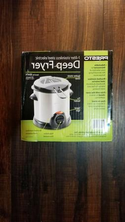 Presto 05470 1000-Watt 1-Liter Stainless-Steel Electric Deep