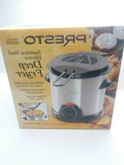 Presto 05470 Liter Stainless Steel Electric Deep Fryer Box W