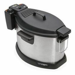 Presto 05487 Profry Electric Rotisserie Turkey Fryer Deep, 1