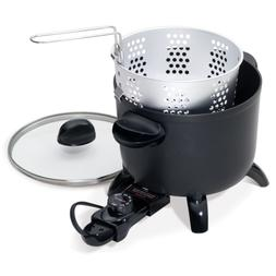 PRESTO 06006 Black Kitchen Kettle Multi-Cooker Steamer