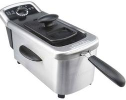 1-FARBERWARE 2.5L SINGLE DEEP FRYER STAINLESS STEEL