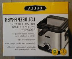 Bella 1.5 L Deep Fryer brand new free shipping