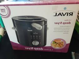 Rival 1.5-Liter Deep Fryer