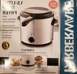 Farberware 1.5 - Liter Stainless Steel Deep Fryer Model FW-D