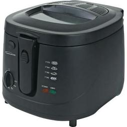 12 Cup Electric Deep Fryer 1500W 2.5L Countertop Fryers For