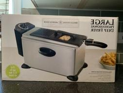 Bella 13401 3.5L Stainless Steel Deep Fryer