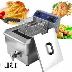 13L Electric Deep Fryer Commercial Restaurant Fast Food Fren