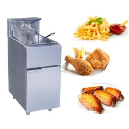 1PC FY-2G commercial Vertical GAS type <font><b>fryer</b></f