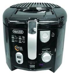 DELONGHI 2.2 lbs. Roto Low Oil Deep Fryer with Cool Touch Ha