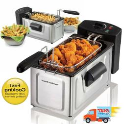 Hamilton Beach 2-Liter Professional Deep Fryer Fast cooking