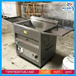 25 Liter  Deep  Propane Fryer Toastmaster w/ Thermostat  or
