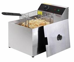 2500W Deep Fryer Electric Commercial Tabletop Restaurant Fry