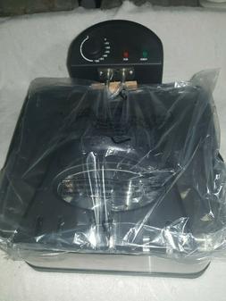 3 BASKET DEEP FRYER - 4QT CAPACITY - MODEL L-DF401B