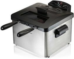 3 BASKET DEEP FRYER PERP4.5 LITER OIL CAPACITY