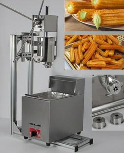 3L Capacity Commerical churros maker machine with 6L Gas <fo