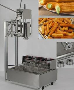 3L Capacity Spainish churros machine maker with 12L <font><b