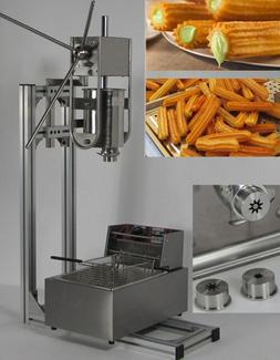 3L Capacity Spainish churros machine maker with 6L <font><b>