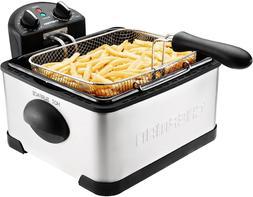 Chefman 4 Liter Deep Fryer w/Basket Strainer Perfect For Chi