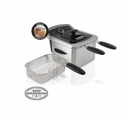 Farberware 4-Liter Dual Deep Fryer #103736,Stainless Steel,S