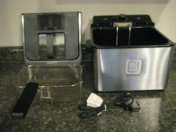Toastmaster 4-Liter Stainless Steel Deep Fryer