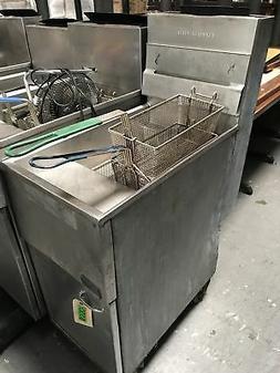 Pitco - 40S - 40lb Commercial Deep Fryer