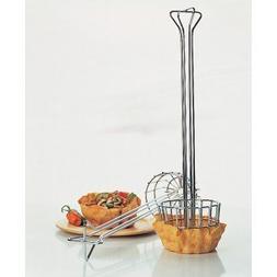 Focus Foodservice 470 Large tortilla fryer basket, chrome pl