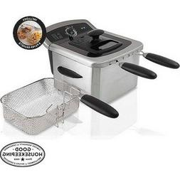 4l deep fryer stainless steel w63