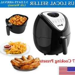 5.3 L Large Capacity Electric Air Fryer W/ LCD Screen Deep F