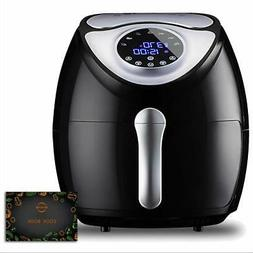 KiLi Beam 5.8QT Power Airfryer XL with Air Fryer Cookbooks,