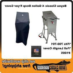 Bayou Classic 700-701 4 Gallon Full Length Deep Fryer Cover