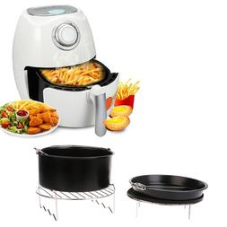 MEXI 7Inch Air <font><b>Fryer</b></font> Pan Accessory Bakin