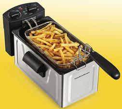 8 cup deep fryer stainless steel 35200