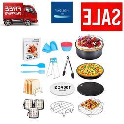 8Inch XL Air Fryer Accessories 17Pcs Deep Fryer Accessories