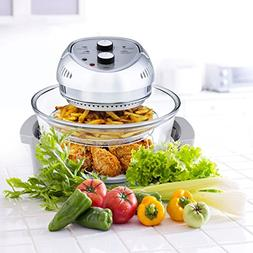 Big Boss Oil-less Air Fryer, 16 Quart, 1300W, Easy Operation