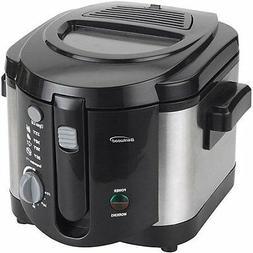 Brentwood DF-720 Appliances 8 Cup Deep Fryer, Silver