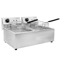 Chef's Supreme - 220v 20 lbs. Countertop Fryer w/ 2 Baskets