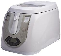 Daewoo DI-9134 220V Deep Fryer, 3 L, White
