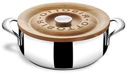 Lagostina Q5510174 La Risottiera Stainless Steel Risotto Pan