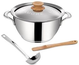 Lagostina Q55102 Minestrone Polenta Stainless Steel Dishwash