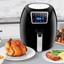 SUPER DEAL ZenChef PRO XXL Hot Air Fryer Family Size 5.8 Qt.