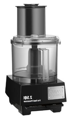 Waring Commercial WFP11S Batch Bowl Food Processor with Liqu
