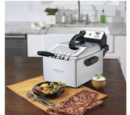 Waring Pro WPF503BJ 1800-Watt Deep Fryer, Brushed Stainless