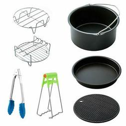 Air Fryer Accessories, 7 Pcs Deep Fryer Accessories Kit for