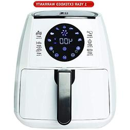 Kalorik Digital Air Fryer with Dual Layer Rack White  with 1