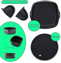 Air Fryer Non-Stick Baking Pan Fits Philips Airfryer, GoWise